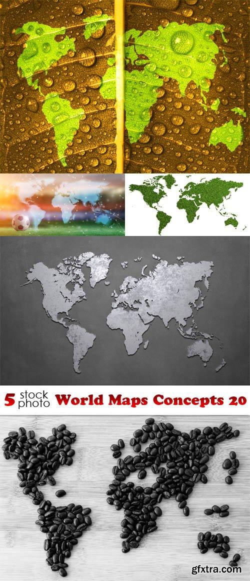 Photos - World Maps Concepts 20