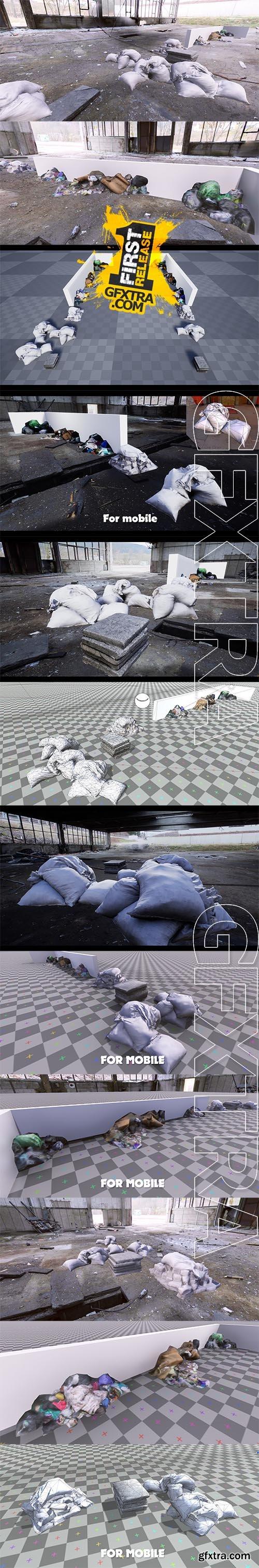Cubebrush - 3D Scanned Trash