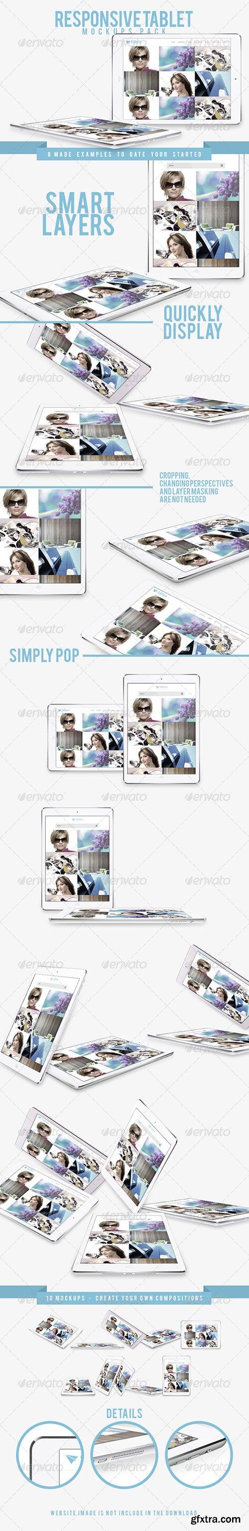 Responsive Tablet Mockups Pack 7835463