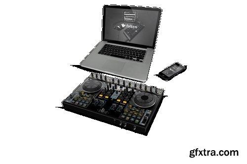 Music Website Mockups Pack
