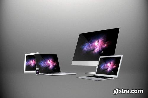 Multi Devices Website Mockups