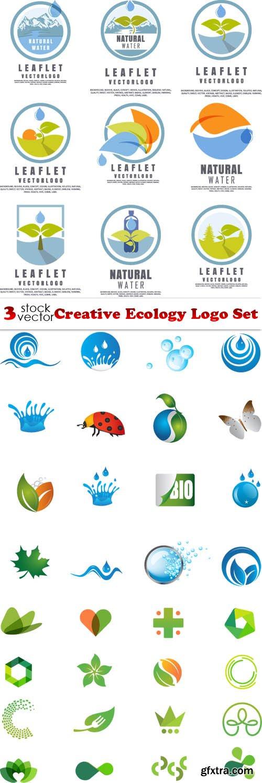 Vectors - Creative Ecology Logo Set