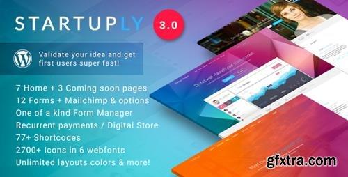 ThemeForest - Startuply v3.0.10 - Multi-Purpose Startup Theme - 9055667