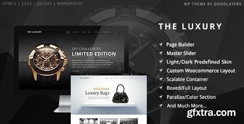 ThemeForest - The Luxury v1.10 - Dark/Light Responsive WordPress Theme - 9210438
