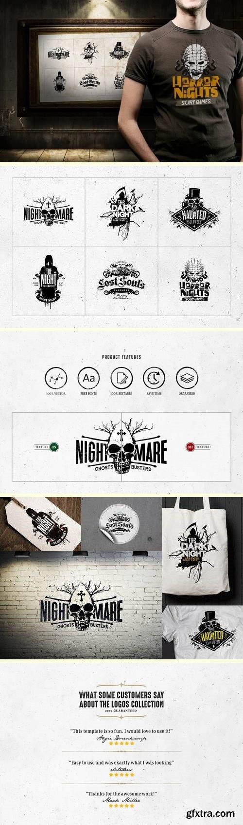 Horror Logo Templates