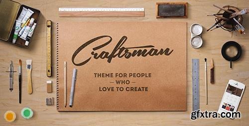 ThemeForest - Craftsman v1.6.1 - WordPress Craftsmanship Theme - 10859297