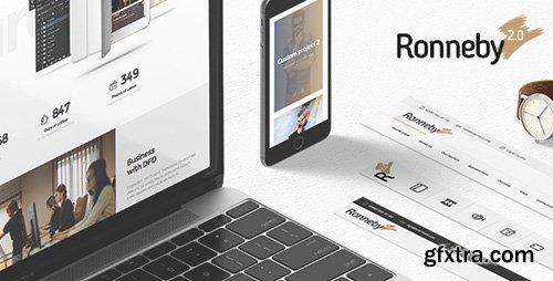 ThemeForest - Ronneby v2.4.0 - High-Performance WordPress Theme - 11776839