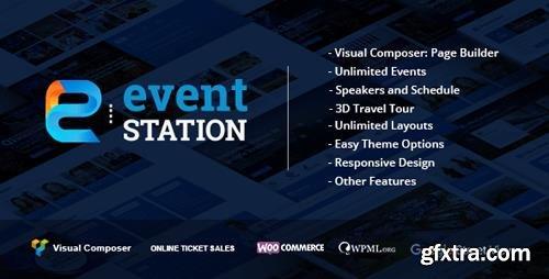 ThemeForest - Event Station v1.2.7 - Event & Conference WordPress Theme - 16019694