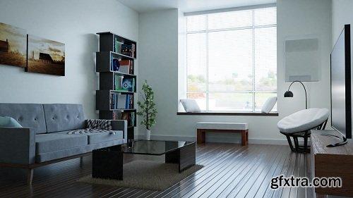 Create & Design a Modern Interior in Blender