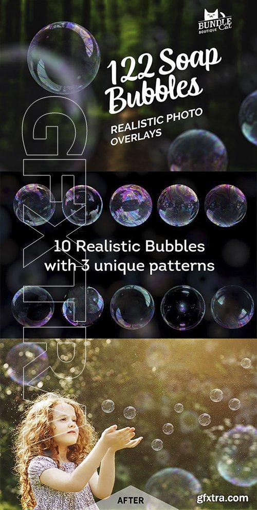 GraphicRiver - 122 Soap Bubbles Photo Overlays 22175413