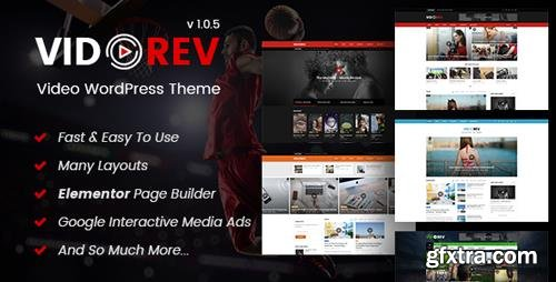 ThemeForest - VidoRev v1.0.5 - Video WordPress Theme - 21798615