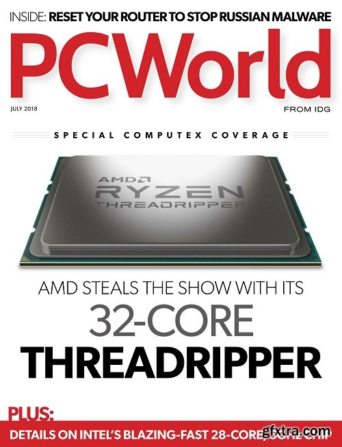 PCWorld - July 2018 (True PDF)