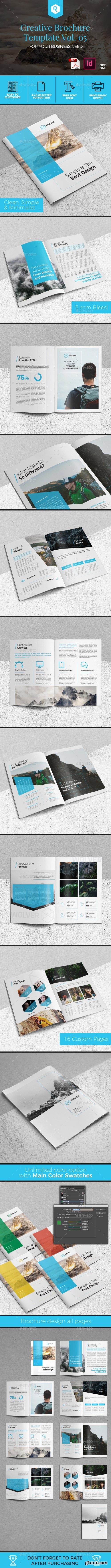 Graphicriver - Creative Brochure Template Vol. 05 19763466