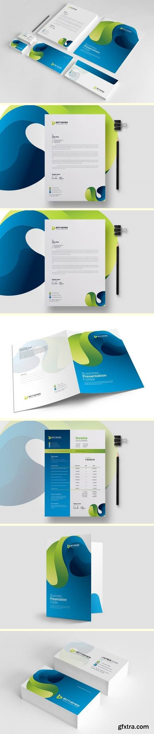 Business Stationery Template 22
