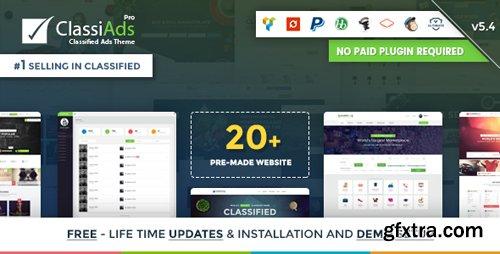 ThemeForest - Classiads v5.4 - Classified Ads WordPress Theme - 8625840