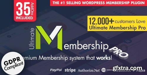 CodeCanyon - Ultimate Membership Pro v7.2 - WordPress Membership Plugin - 12159253 - NULLED