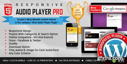 CodeCanyon - Responsive HTML5 Audio Player PRO WordPress Plugin v2.4.3.1 - 7649878