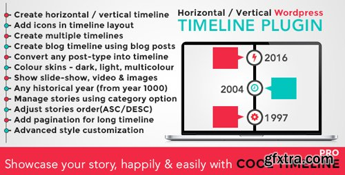 CodeCanyon - Cool Timeline Pro v2.7.2 - WordPress Timeline Plugin - 17046256