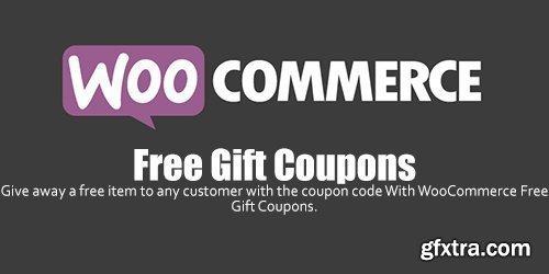 WooCommerce - Free Gift Coupons v2.1.1