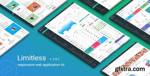 ThemeForest - Limitless v2.0.1 - Responsive Web Application Kit - 13080328