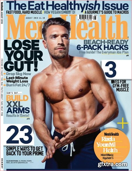 Men\'s Health UK - August 2018