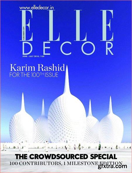 Elle Decor India - June/July 2018