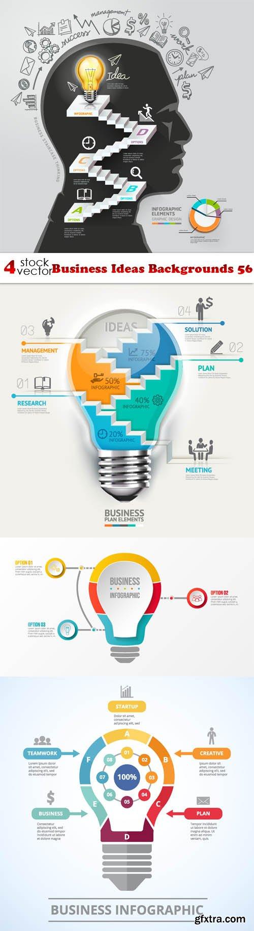 Vectors - Business Ideas Backgrounds 56