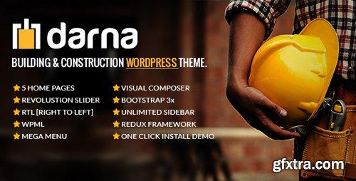 ThemeForest - Darna v1.1.6 - Building & Construction WordPress Theme - 12271216
