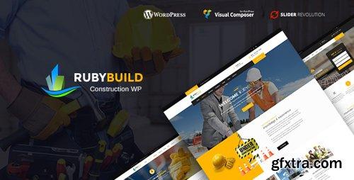 ThemeForest - RubyBuild v1.2 - Building & Construction WordPress Theme - 20766884