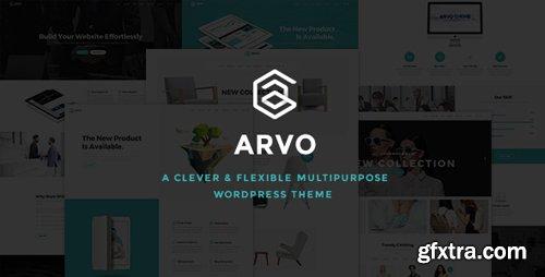 ThemeForest - Arvo v1.6 - A Clever & Flexible Multipurpose WordPress Theme - 17924641