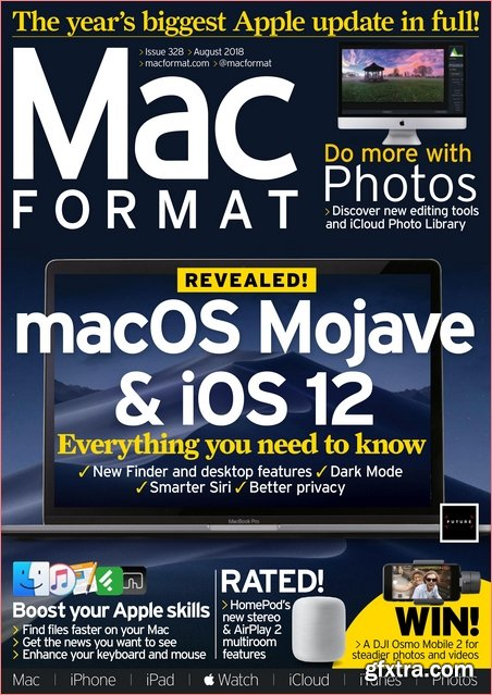 MacFormat UK - August 2018 (True PDF)