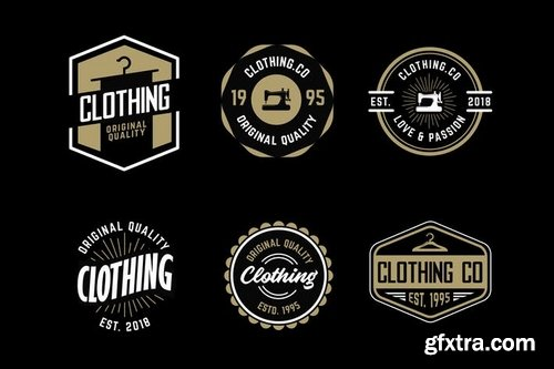 Clothing co Logo Pack