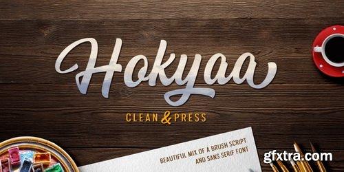 Hokyaa Font Family