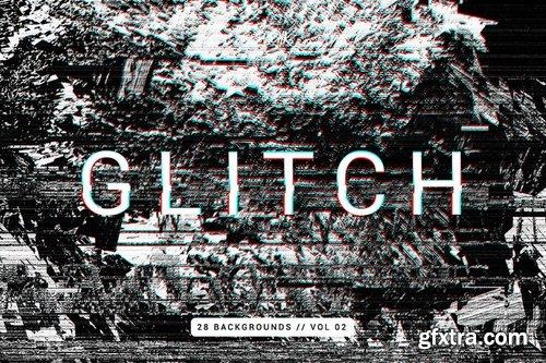 Glitch  Intense Backgrounds Vol 02
