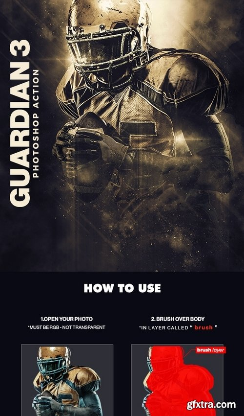 GraphicRiver - Guardian 3 Photoshop Action 22239585