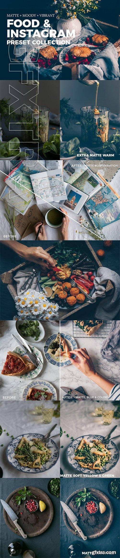 Food & Instagram Lightroom Presets