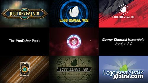 Videohive - The YouTuber Pack - Gamer Channel Essentials V2 - 17655612