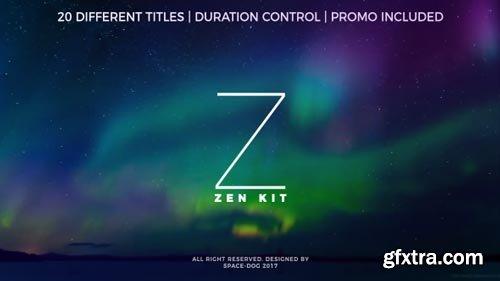 Videohive - Zen Kit (Titles Pack) - 20255138