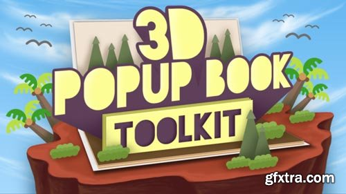 Videohive - 3D Popup Book Toolkit - Apple Motion & Final Cut Pro X - 21241919