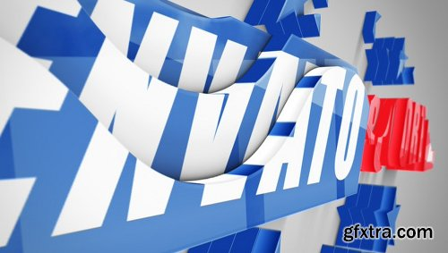 Videohive Realistic Cascading 3D Logo 21979792