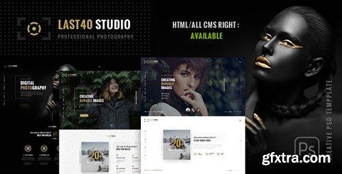 ThemeForest - Last40 Studio - Creative PSD Template 19646636