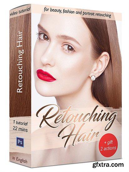 An Beketova - Retouching Hair