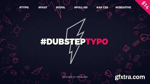 Videohive - Dubstep Typography (opener) - 20028317