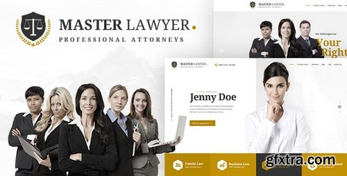 ThemeForest - Master Lawyer - PSD Template - 20571249