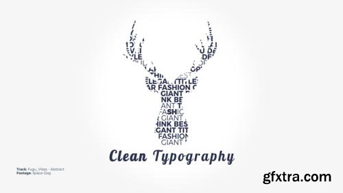 Videohive - Clean Typography - 20645969