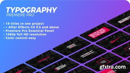 Videohive - Typography - 21627117