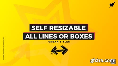 Videohive - Box Titles - Self Resizing - 21881214