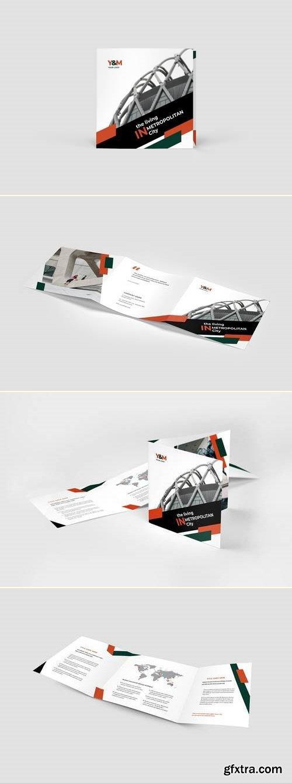Architecture Square Trifold Brochure