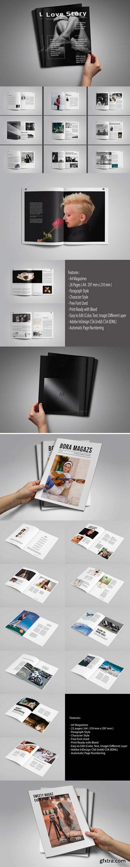 A4 Magazines Bundle 1