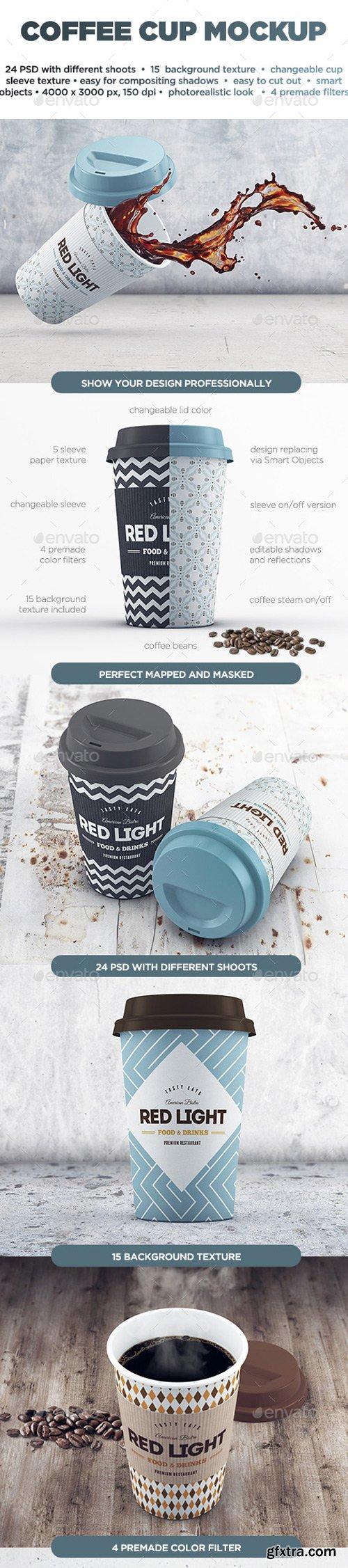 Graphicriver - 13081348 Coffee Cup MockUp